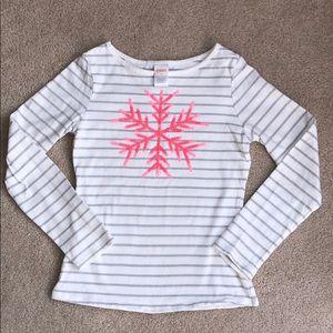 Gymboree Girl's Snowflake Shirt